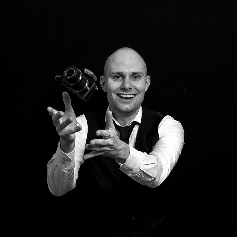 Zelfportret fotograaf